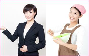 特化した人材サービスを提供イメージ
